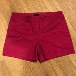 The Limited hot pink shorts with stretch, size 14